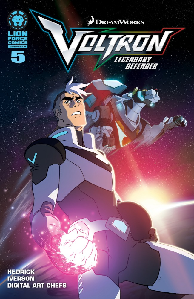 Voltron - Legendary Defender #5