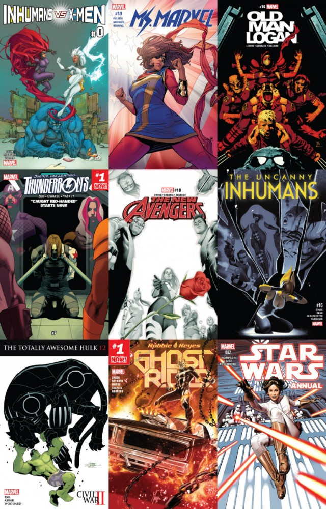 Collection Marvel (30.11.2016, week 48)