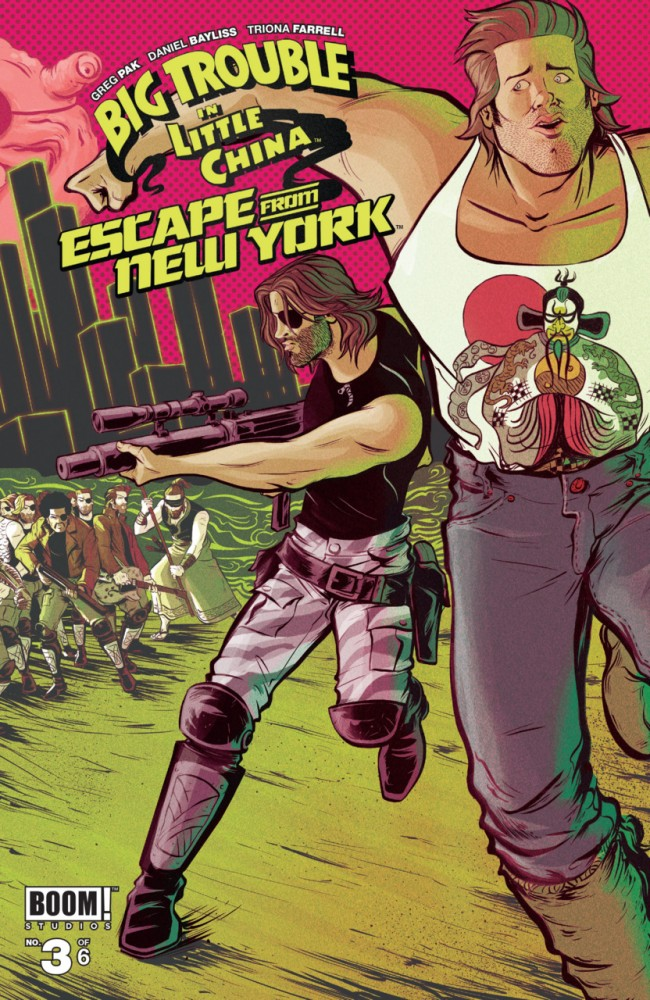 Big Trouble in Little China Escape From New York #3