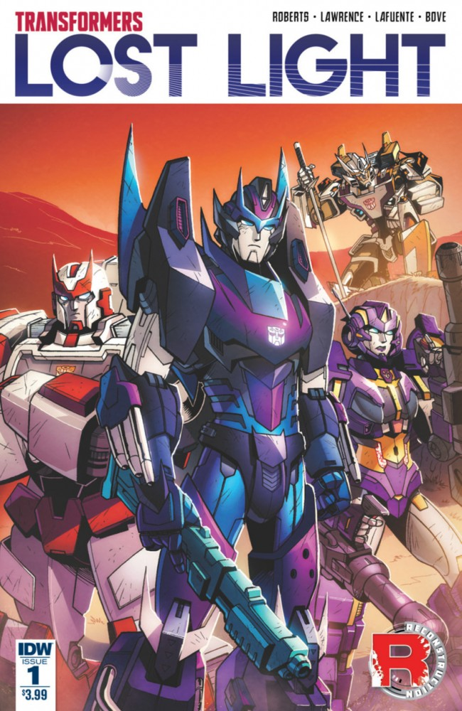 Transformers - Lost Light #1