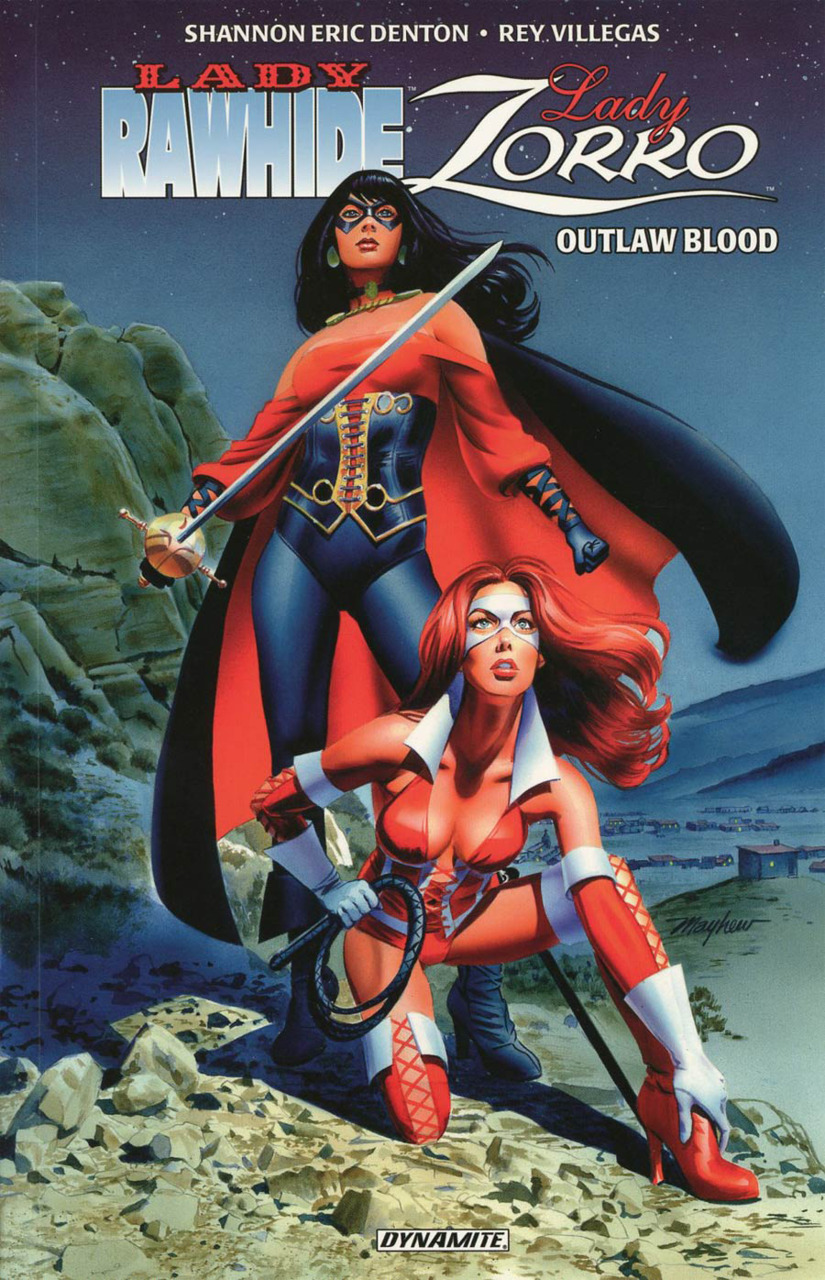 Lady Rawhide Lady Zorro Vol.1 - Outlaw Blood