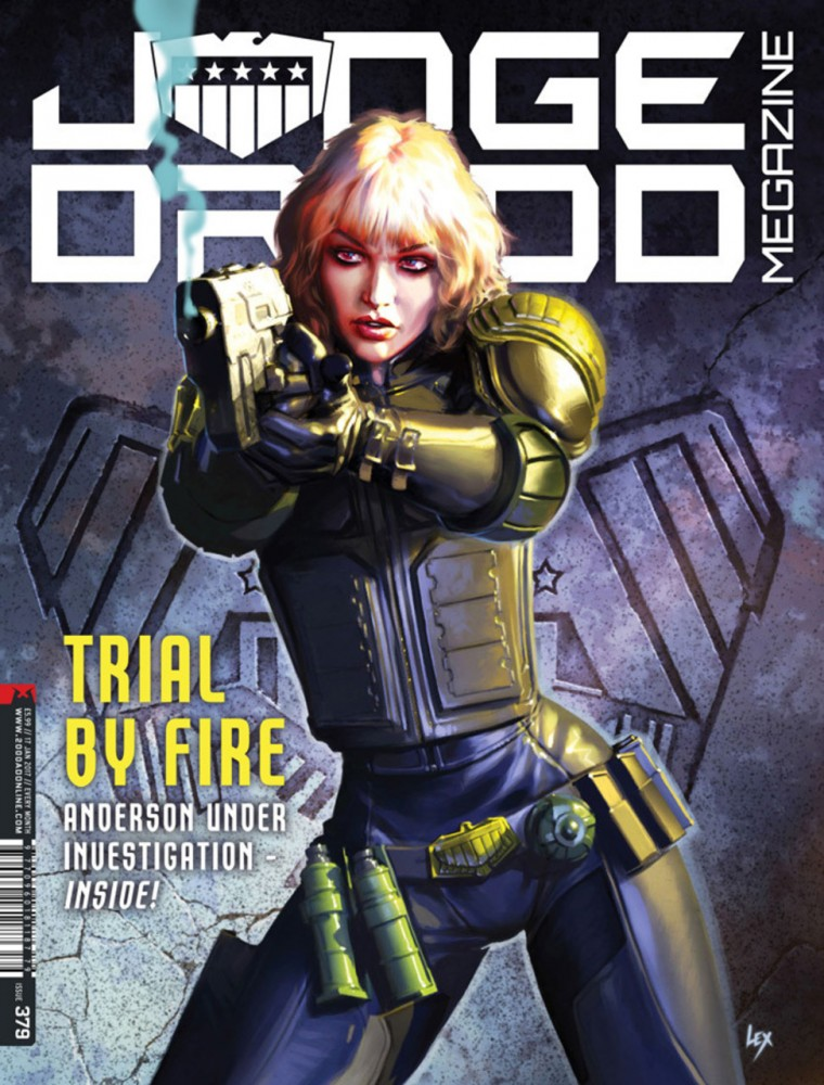 Judge Dredd The Megazine #379