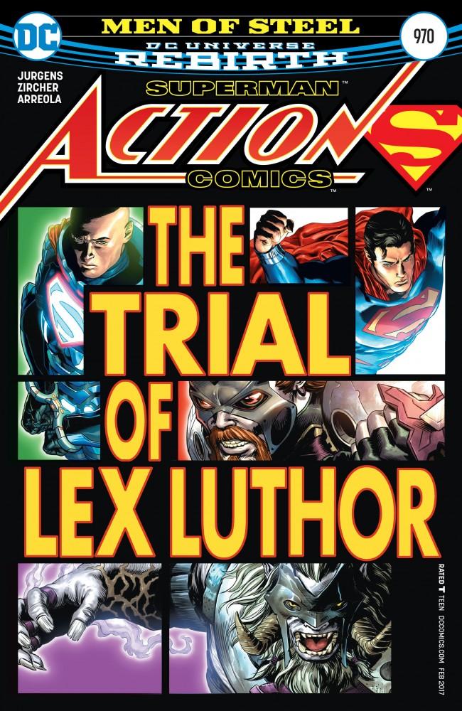 Action Comics #970 » Download Free CBR, CBZ Comics, 0-day