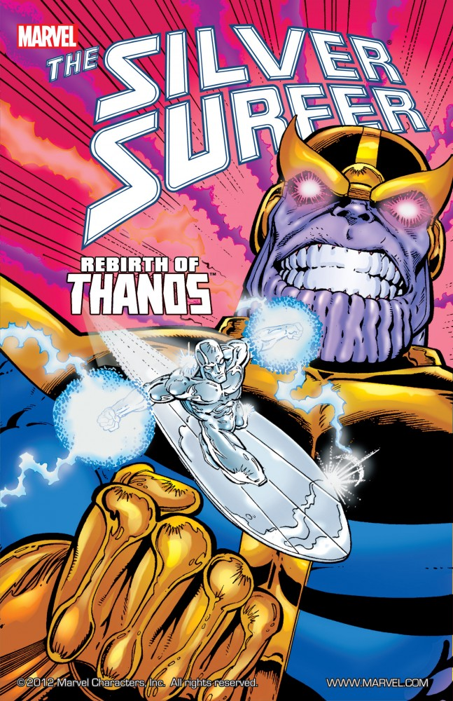Silver Surfer - Rebirth of Thanos