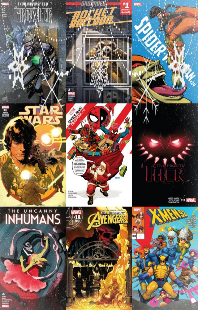 Collection Marvel (28.12.2016, week 52)