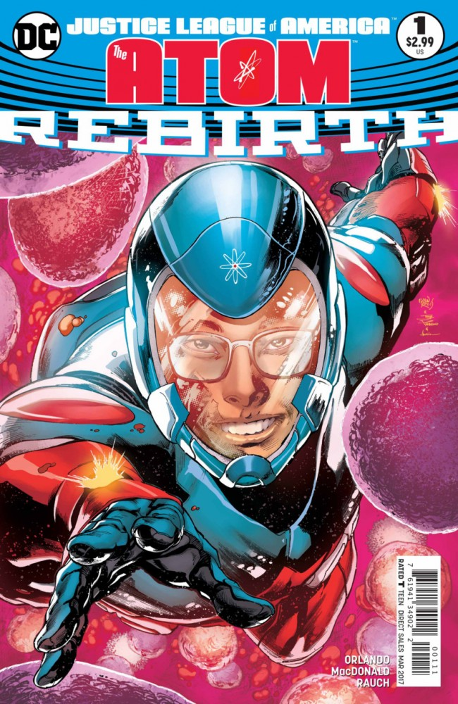 Justice League of America - The Atom - Rebirth #1