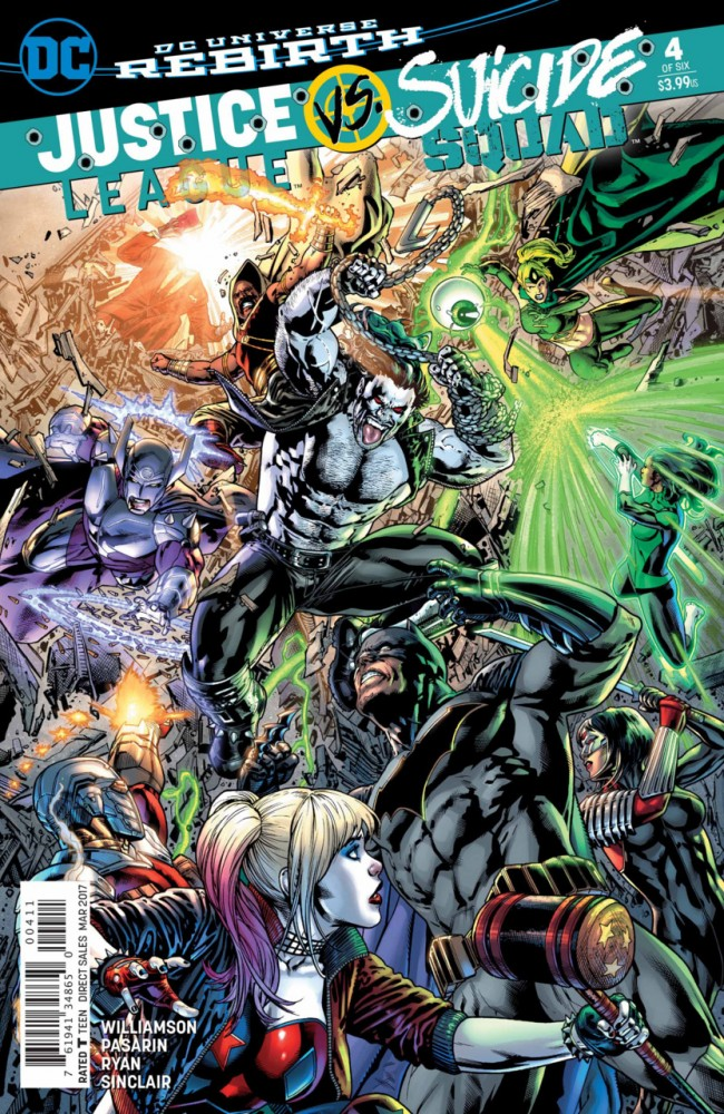 Justice League Vs Suicide Squad #4