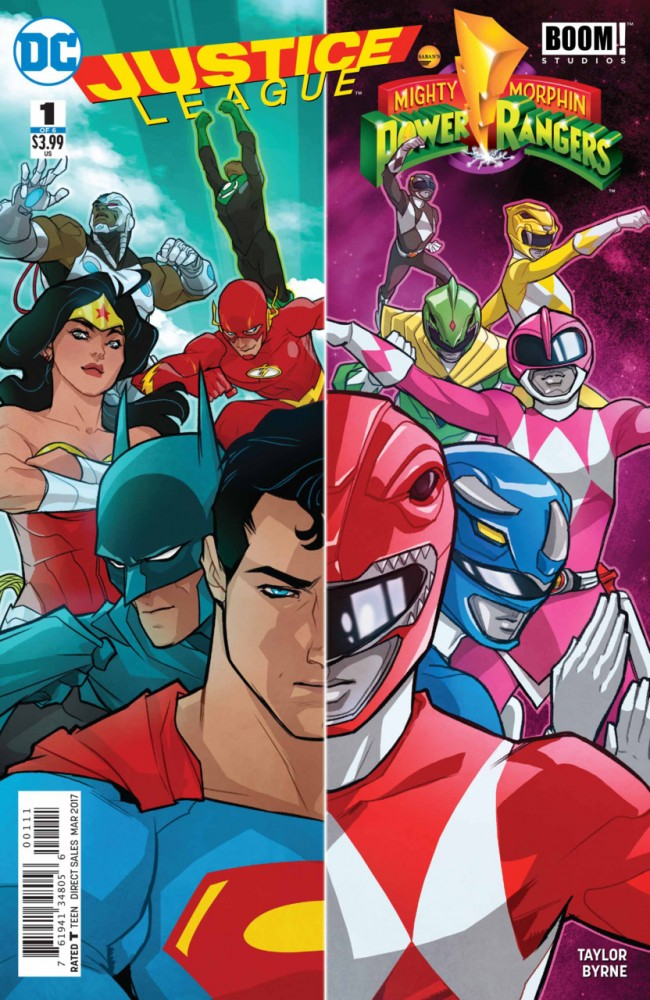 Justice League - Mighty Morphin' Power Rangers #1