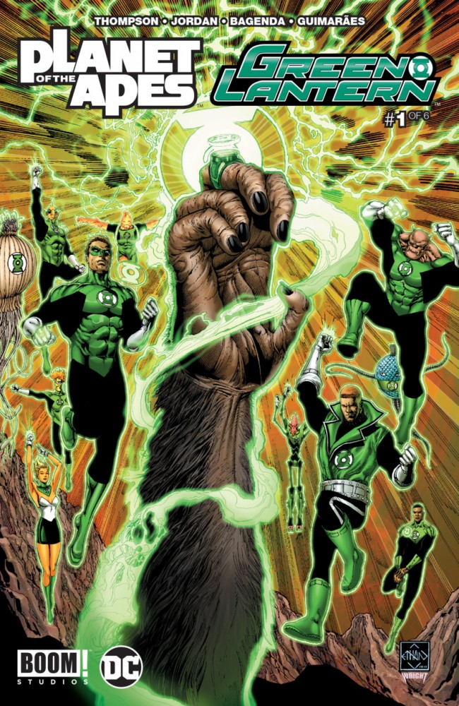 Planet of the Apes - Green Lantern #1