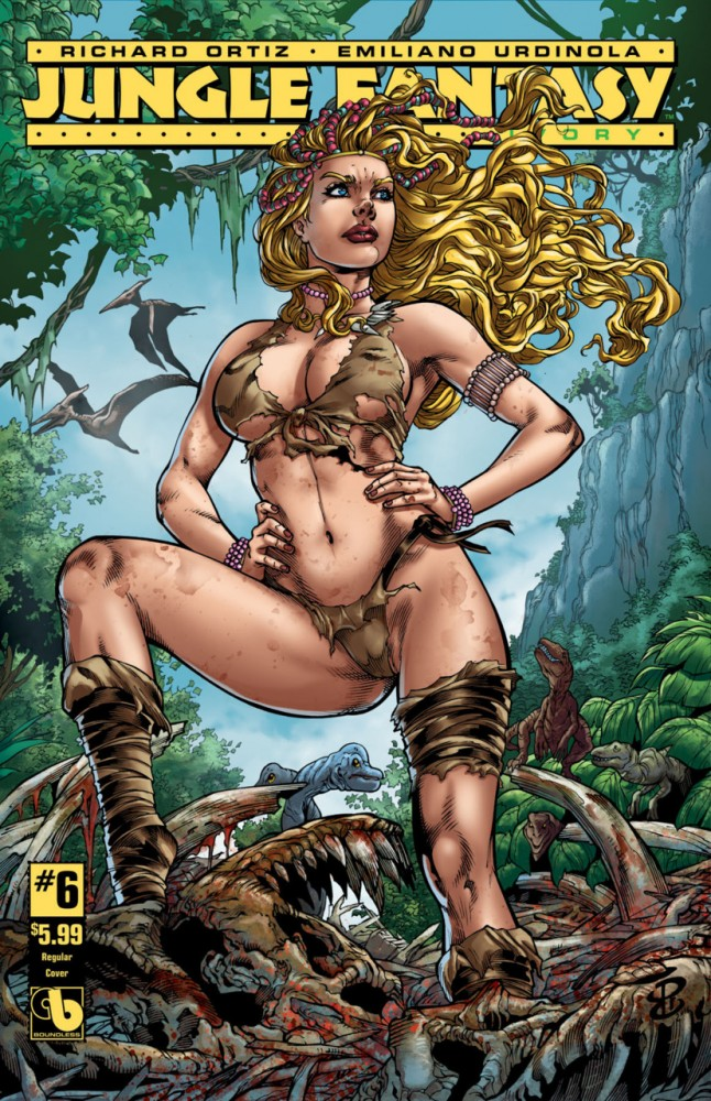 Jungle Fantasy - Ivory #6