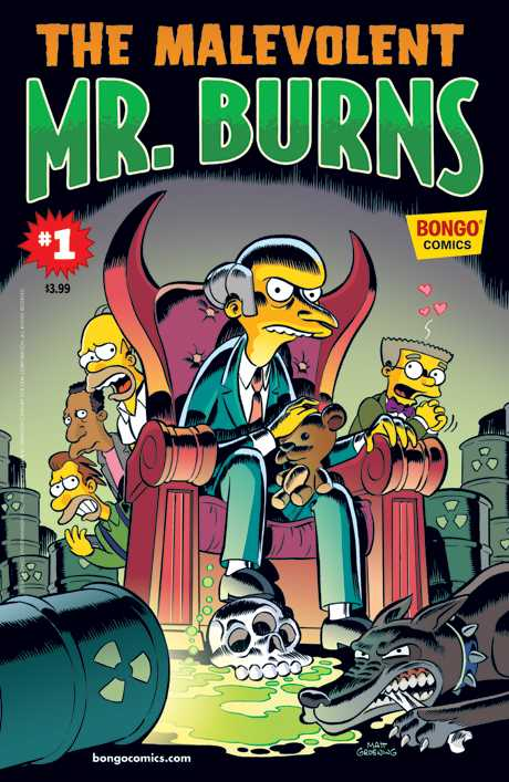 One-Shot Wonders - The Malevolent Mr. Burns #1