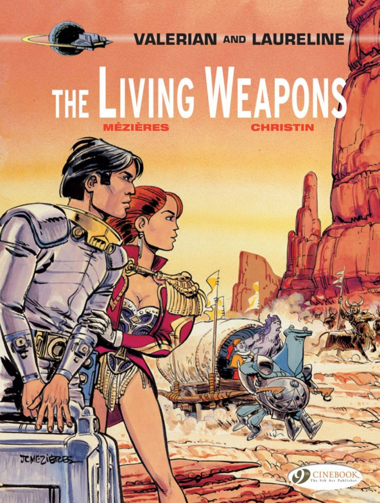 Valerian and Laureline #14 - The Living Weapons