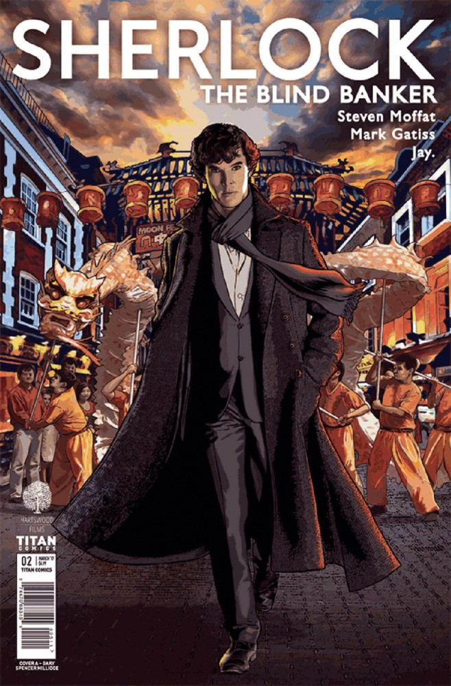 Sherlock - The Blind Banker #2