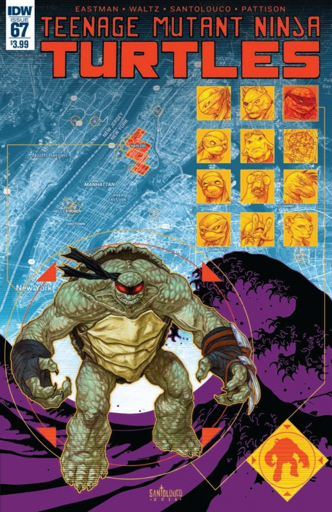 Teenage Mutant Ninja Turtles #67