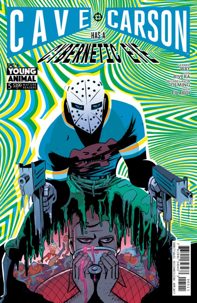 Cave Carson Has a Cybernetic Eye #5