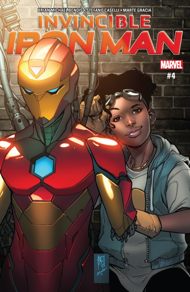 Invincible Iron Man #4