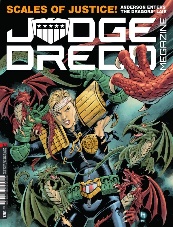 Judge Dredd The Megazine #381