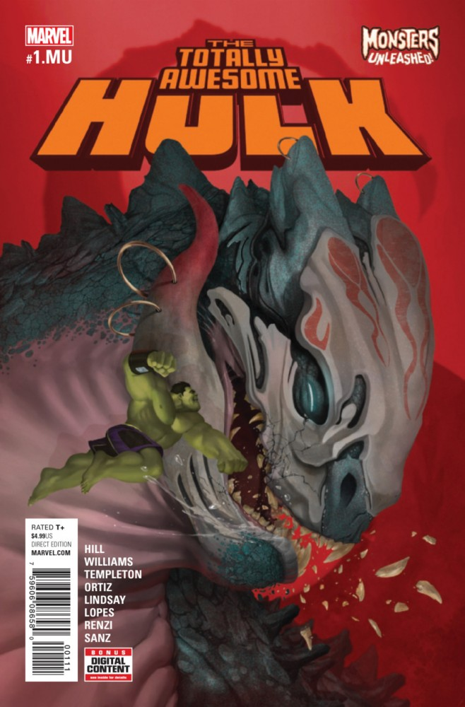 The Totally Awesome Hulk #1.MU