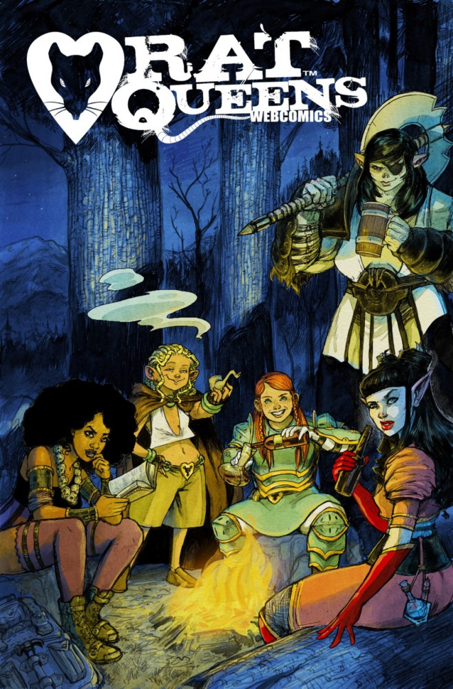 Rat Queens Webcomics #1