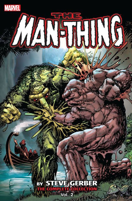 Man-Thing by Steve Gerber - The Complete Collection Vol.2