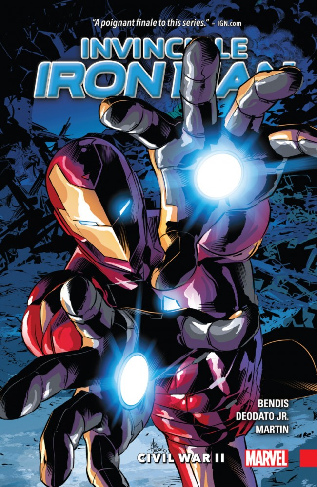 Invincible Iron Man Vol.3 - Civil War II