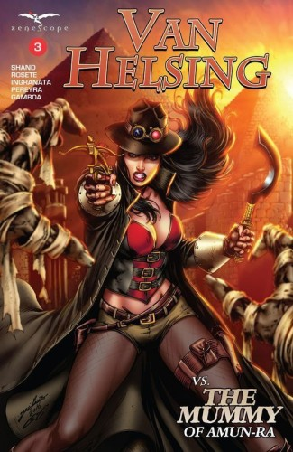 Van Helsing Vs The Mummy Of Amun-Ra #3