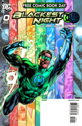 Blackest Night #0-8 Complete