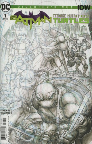 Batman - Teenage Mutant Ninja Turtles - Director's Cut #1