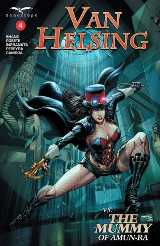 Van Helsing Vs The Mummy Of Amun-Ra #4