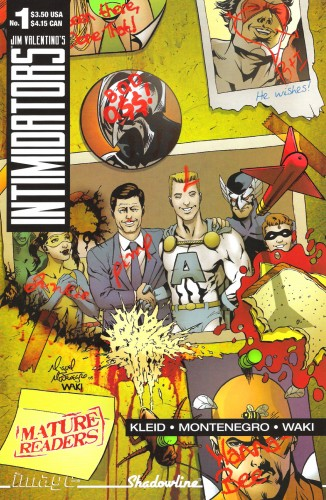 The Intimidators #1-4 Complete