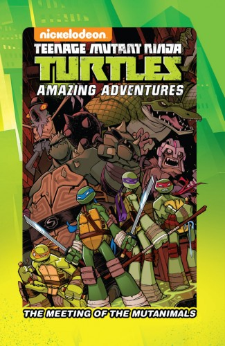 Teenage Mutant Ninja Turtles - The Meeting of the Mutanimals #1 - HC
