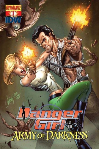 Danger Girl And The Army Of Darkness #1-6 Complete