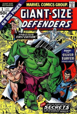 Giant-Size Defenders #1-5 Complete
