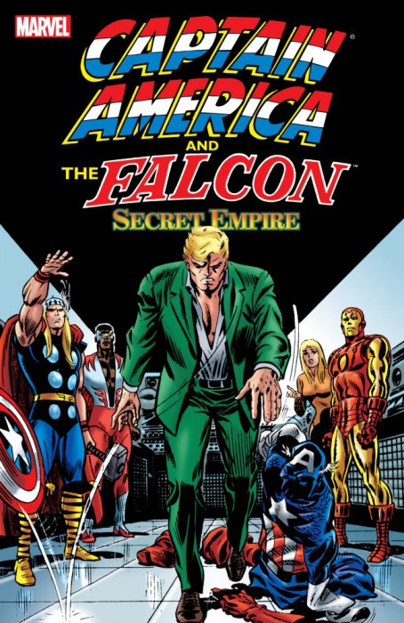 Captain America and The Falcon - Secret Empire #1 - TPB
