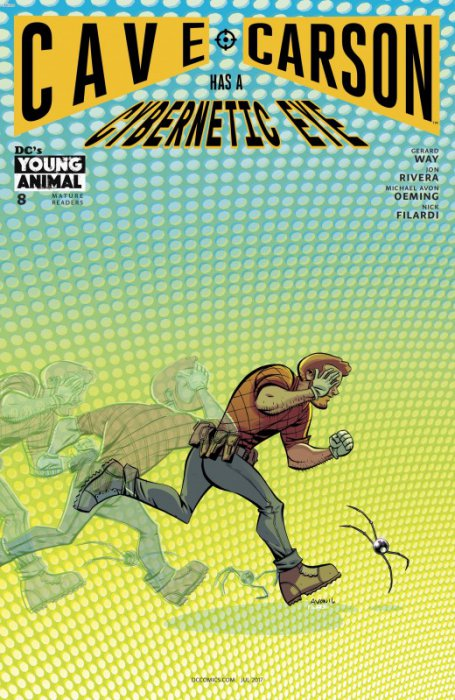 Cave Carson Has a Cybernetic Eye #8