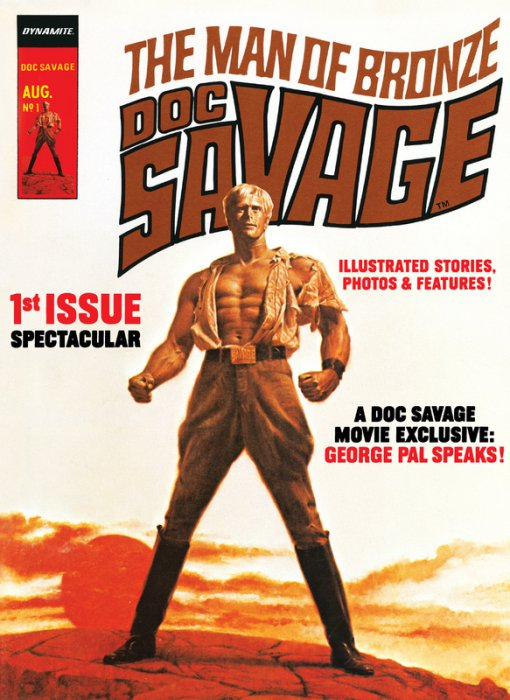 Doc Savage #1-3 Complete