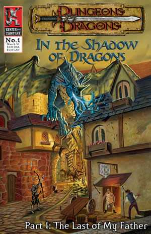 Dungeons And Dragons - In The Shadow Of Dragons #1-8 Complete