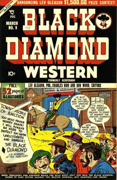 Black Diamond Western #9-60 Complete