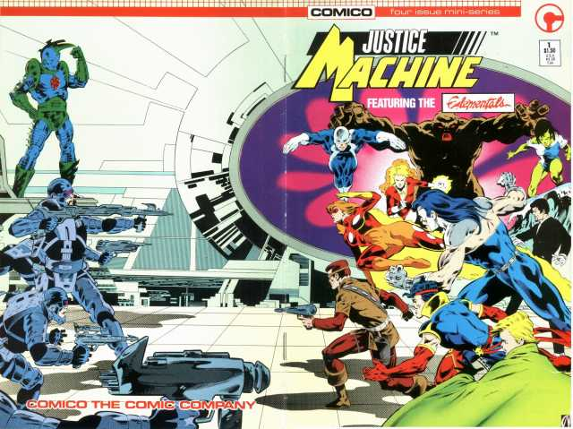 Justice Machine #1-4 Complete