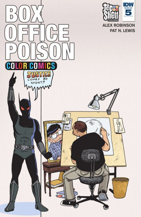 Box Office Poison Color Comics #5