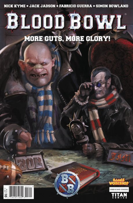 Blood Bowl - More Guts, More Glory! #1