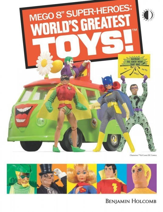 Mego 8'' Super-Heroes - World's Greatest Toys!