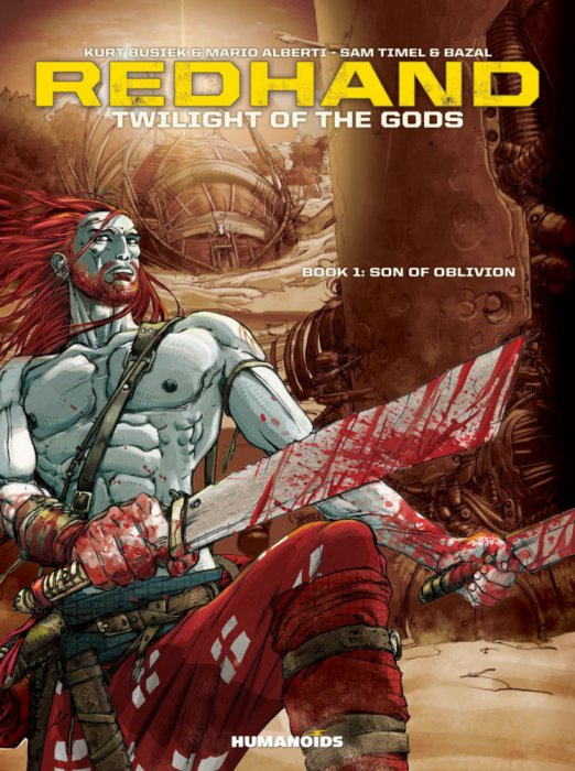 Redhand, Twilight of the Gods - Book #1-3 Complete