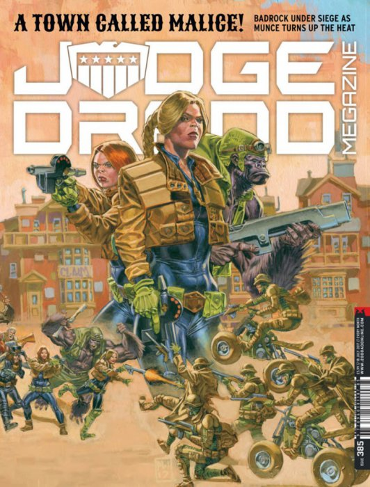 Judge Dredd The Megazine #385