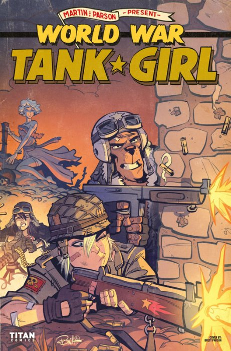 Tank Girl - World War Tank Girl #3
