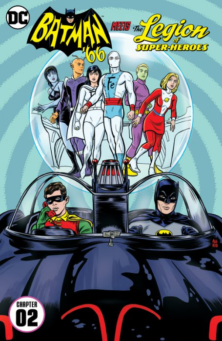 Batman '66 Meets the Legion of Super-Heroes #2