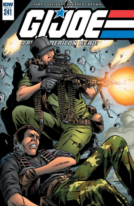 G.I. Joe - A Real American Hero #241