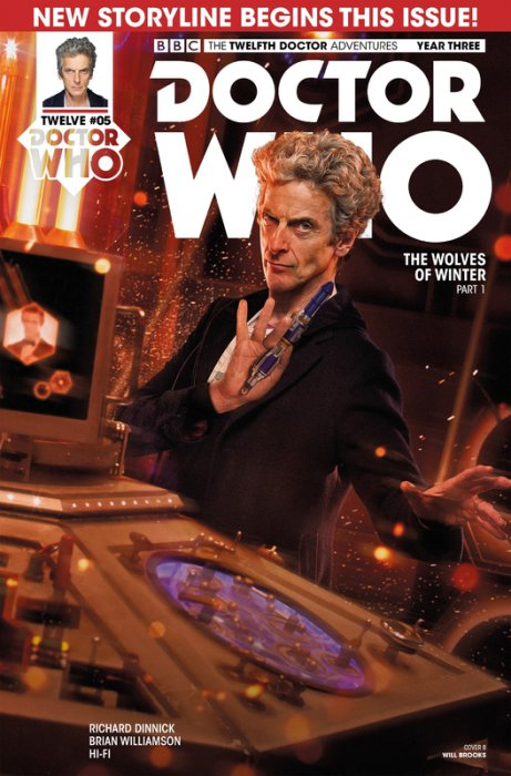 Doctor Who - The Twelfth Doctor Year Three #5