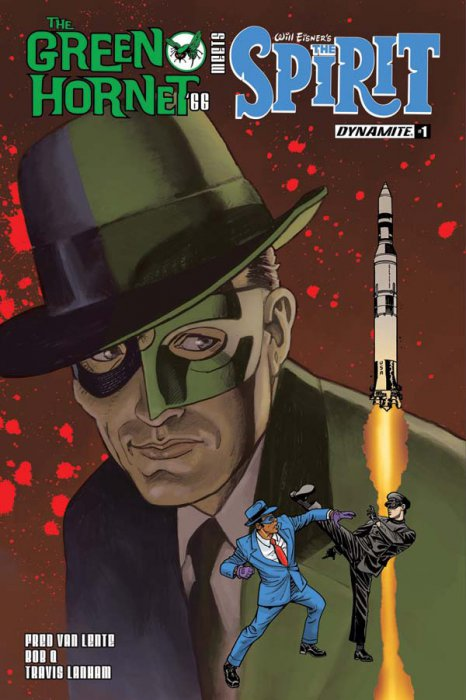 The Green Hornet '66 Meets The Spirit #1