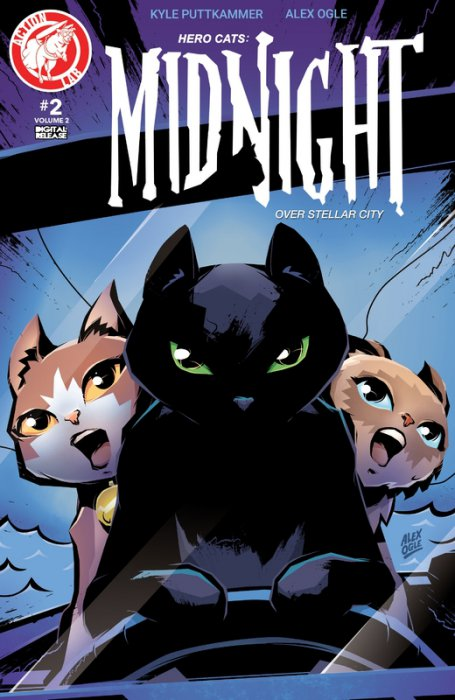 Hero Cats - Midnight Over Stellar City Vol.2 #2